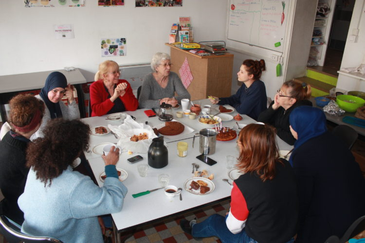Fahima, Farida, Marie, Françoise, Clélia,